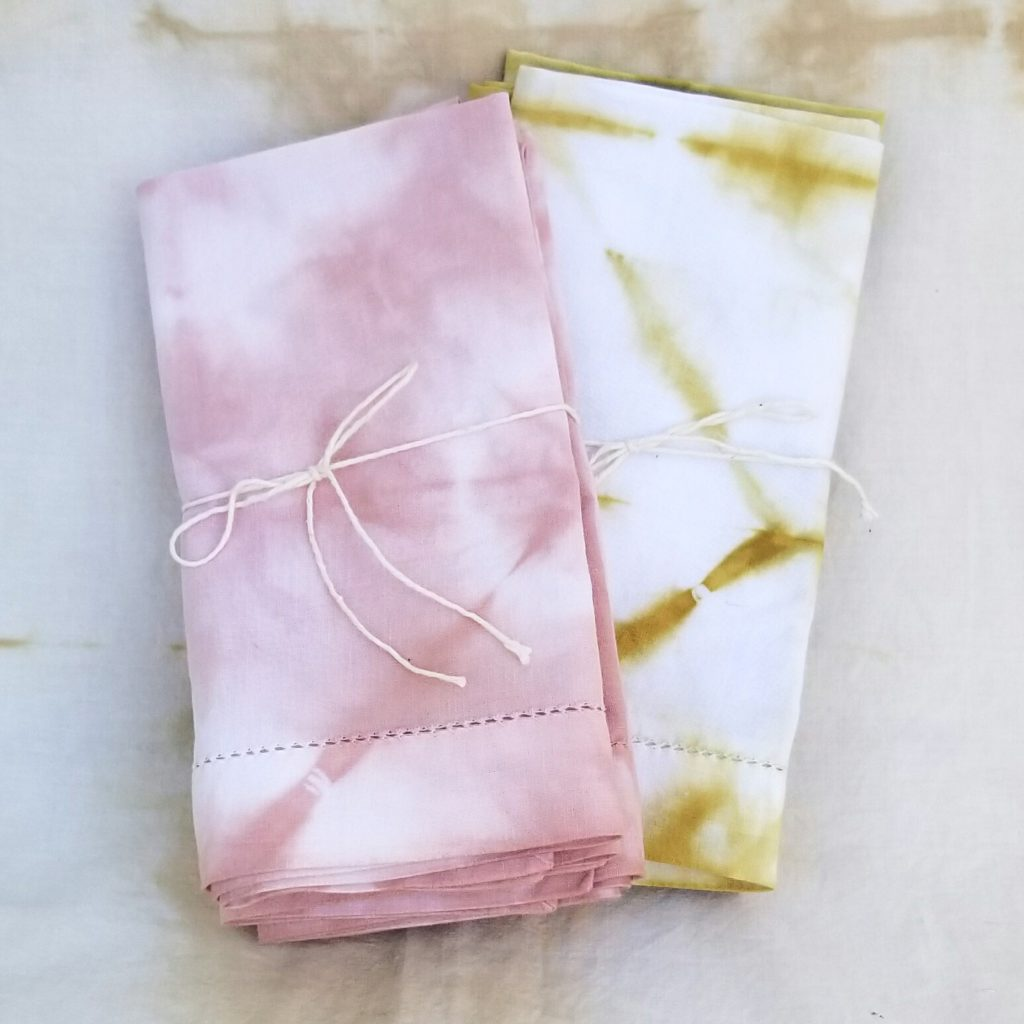 Hand Dyed Napkins – Set Of 4