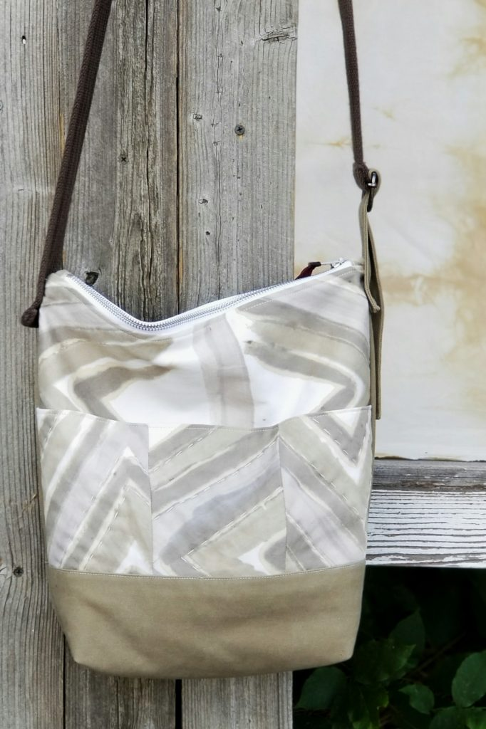 Hand Painted Crossbody Bag