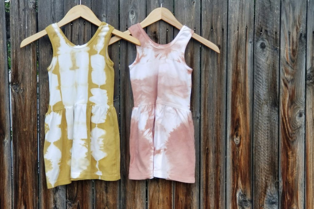 Hand Dyed Toddler Dresses