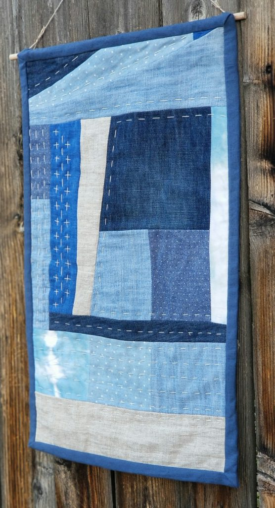 Modern Quilted Wall Hanging