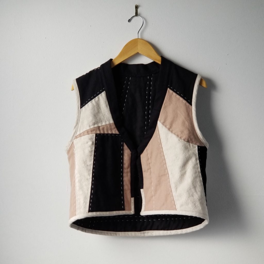 Quilted Patchwork Vest