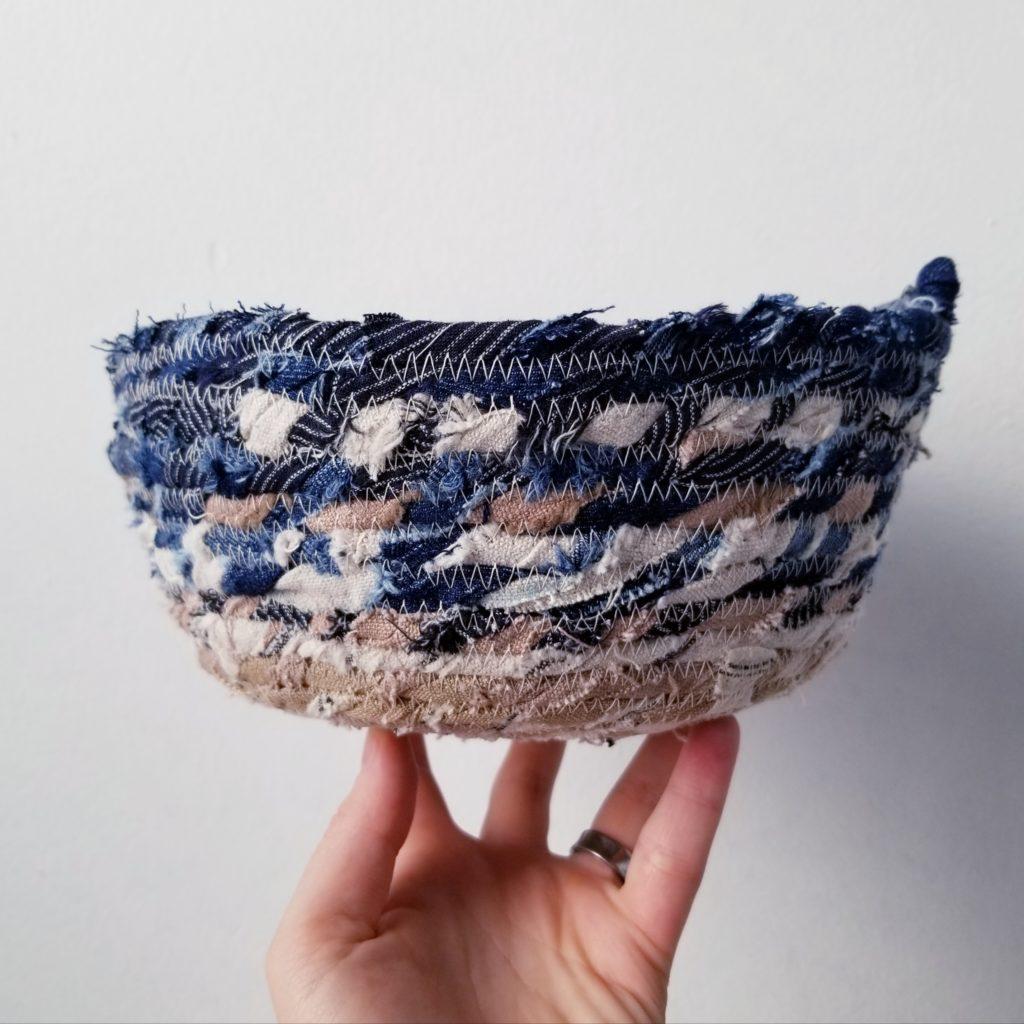 Scrappy Coil Basket
