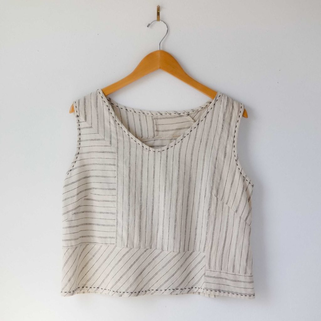 Patchy Tank Top
